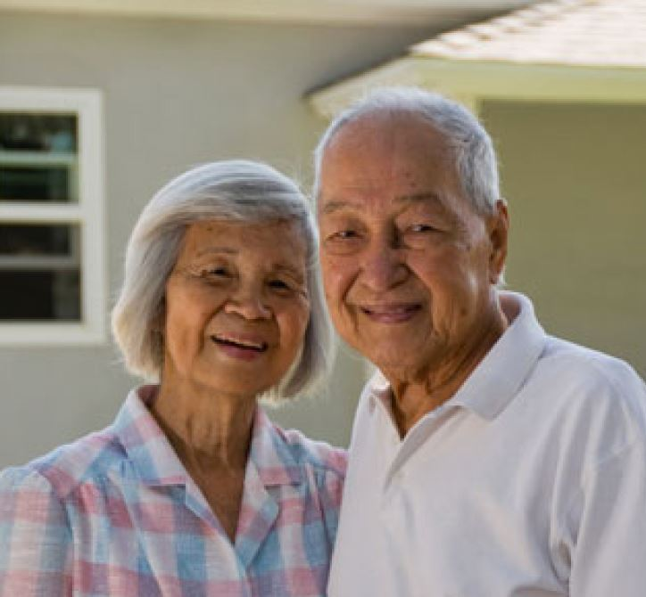Senior couple - tax relief