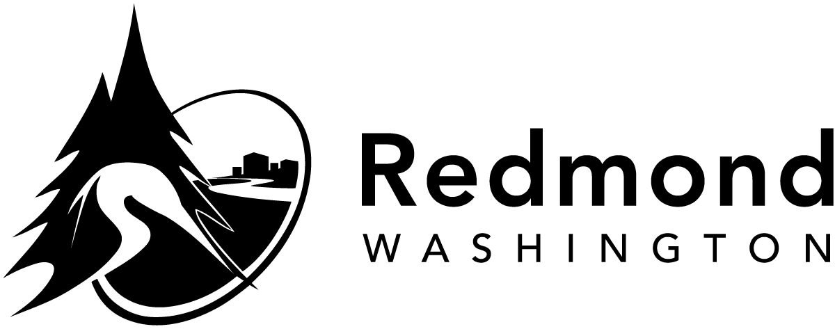 City of Redmond logo - black